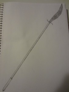 I used to draw weapons often as a kids.