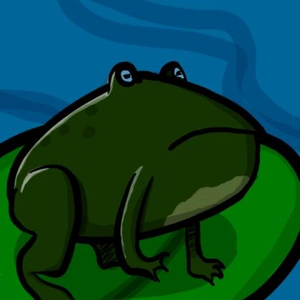 Tis a frog.