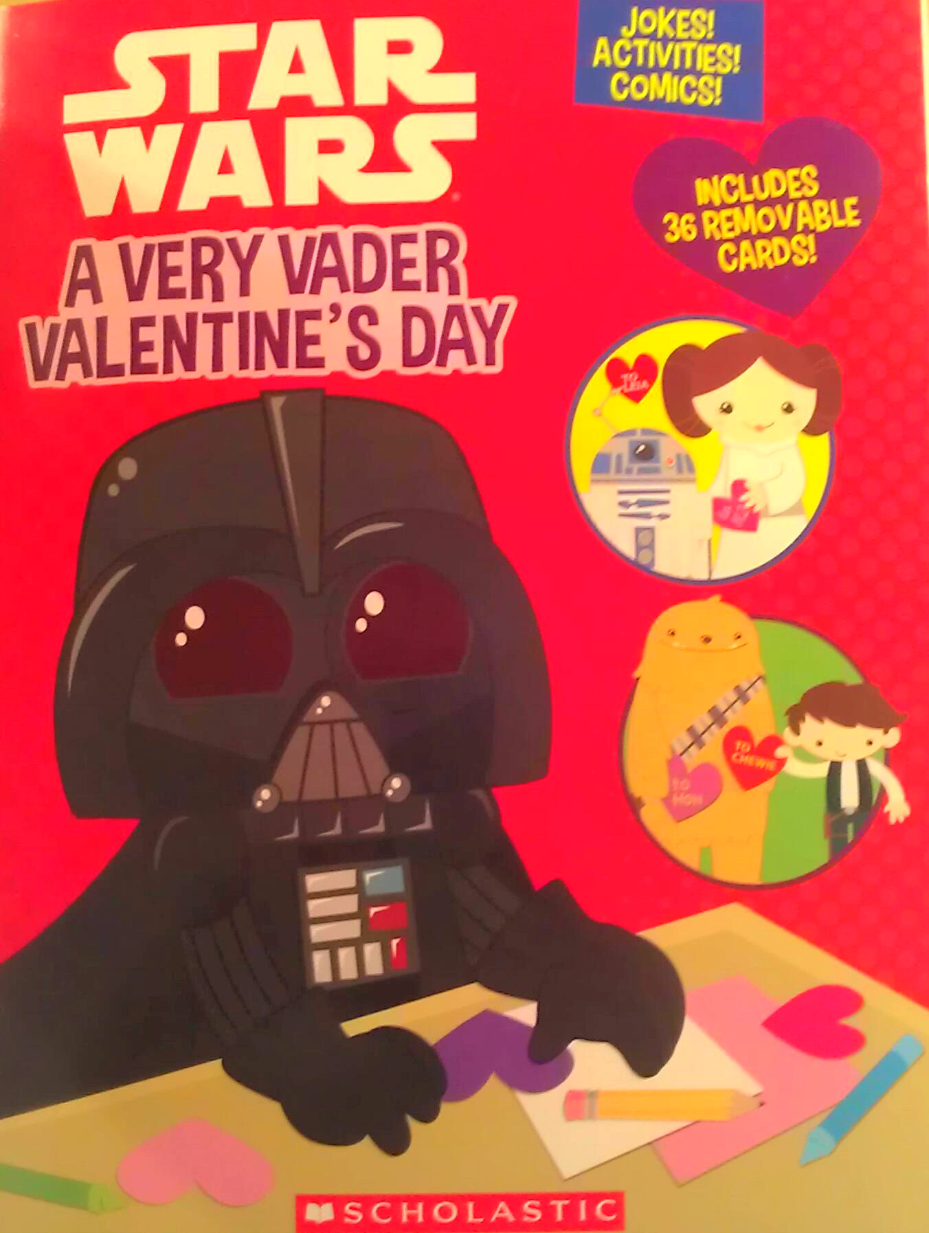 Top 6 Valentine S Day Cards Star Wars Edition