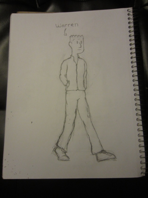 This is Warren, he is a key character in the Animockery comic.