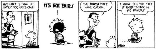 the-world-isnt-fair